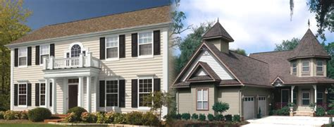 houses with different color siding vinyl siding color options cleveland oh