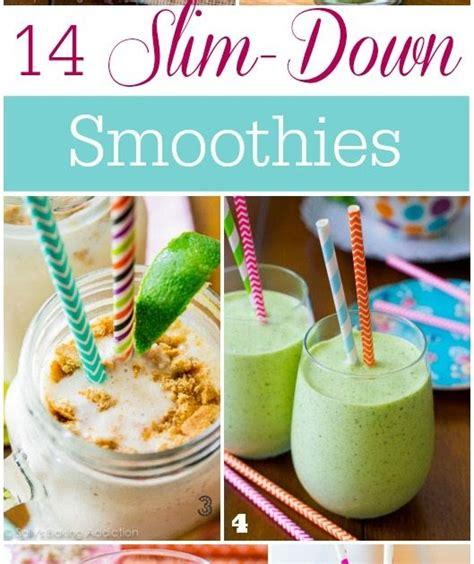 7 Ultra Slimming Smoothies by Gettin Our On 14 Slim Smoothies