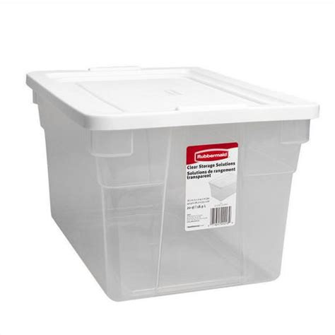 rubbermaid storage containers walmart rubbermaid 18 9 l storage container walmart ca