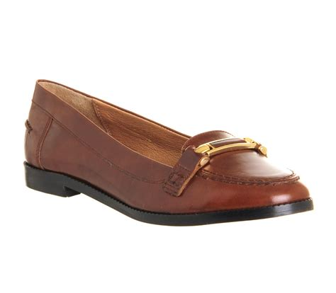 womens leather loafers womens office loafers leather flats ebay