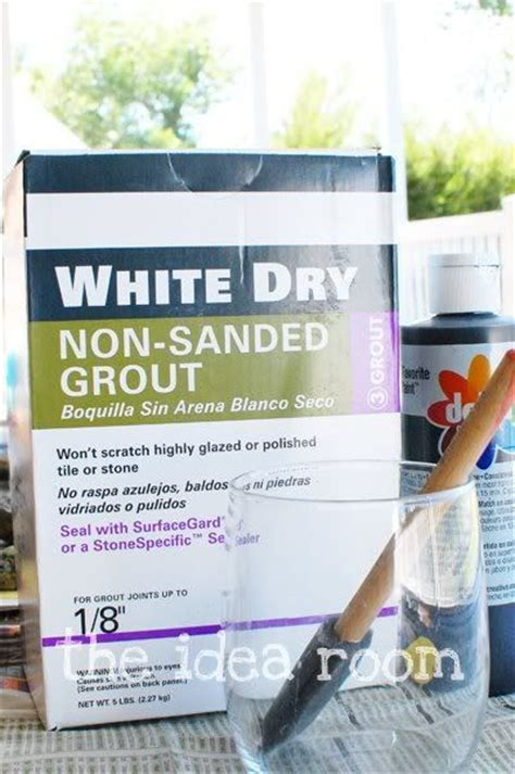 diy chalk paint with grout chalkboard paint recipe preschool ideas