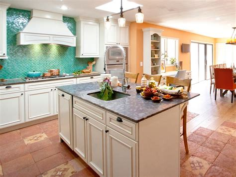 country kitchen with island kitchen islands hgtv