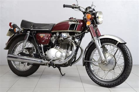 honda cb 350 k4 de 1973 d occasion motos anciennes de collection japonaise motos vendues