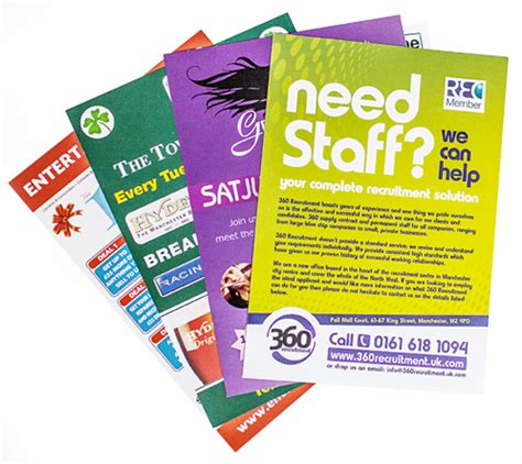Flyer Brosur A5 Paper 150 120 Gsm Cetak 1 Sisi leaflets printing sales sheets in birmingham beeprinting