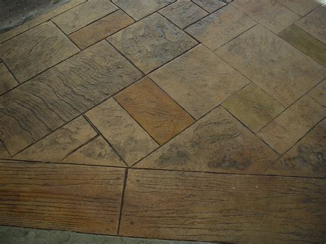 mixture of woof and tile floors concrete flooring ideas for your home the flooring