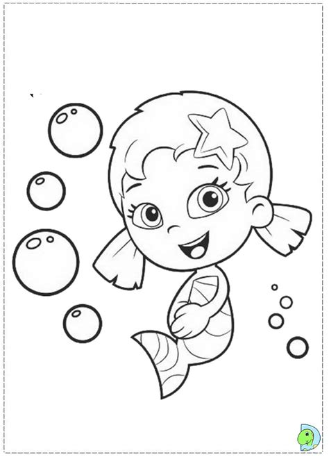bubble guppies coloring pages games bubble guppies coloring page dinokids org