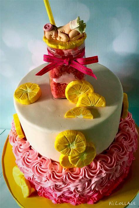 Lemonade For Baby Shower by Pink Lemonade Baby Shower Cake Cakecentral