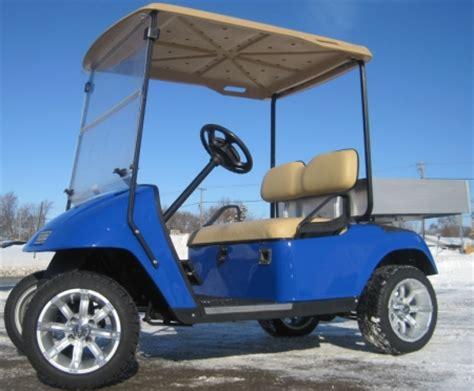 golf cart bed custom ez go 36v electric utility golf cart with aluminum
