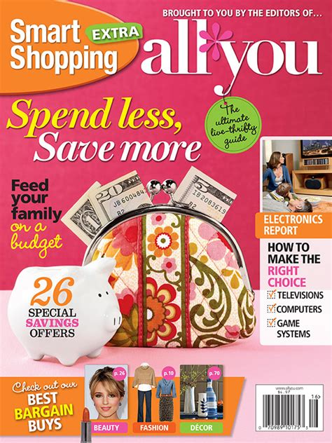 magazine discount coupon all you smart shopping magazine