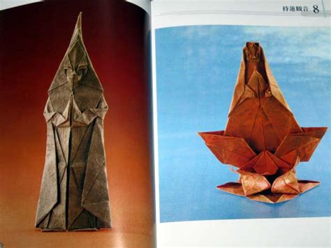 Origami Human Figure - origami advanced book buddhist human figures religion