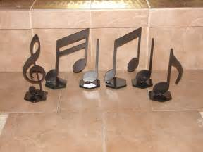 musical notes home decor metal art music note set