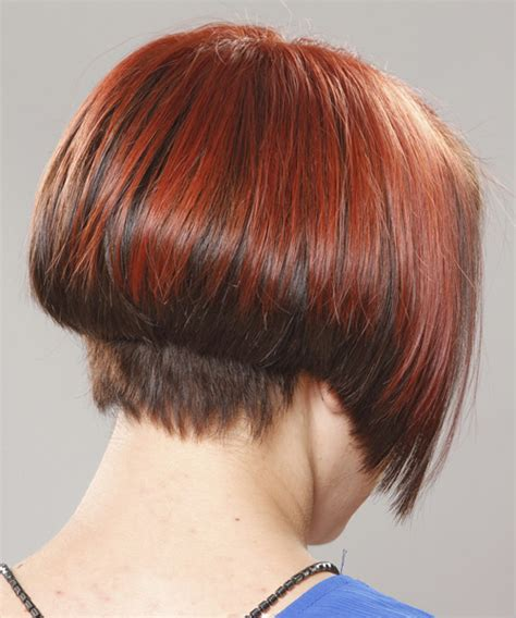 the bob haircut style front and back front and back views of wedge style haircuts short