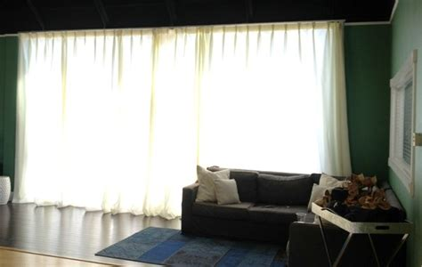 privacy blinds that let light in off white sheers with lining to add privacy but let light