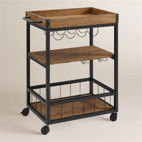 metal ranney kitchen cart world market