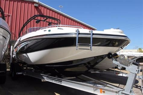 wakeboarding behind a hurricane deck boat hurricane sd 2400 boats for sale
