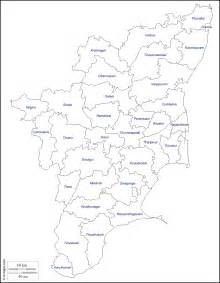 Tamilnadu Outline Map India by Tamil Nadu Free Map Free Blank Map Free Outline Map Free Base Map Outline Districts