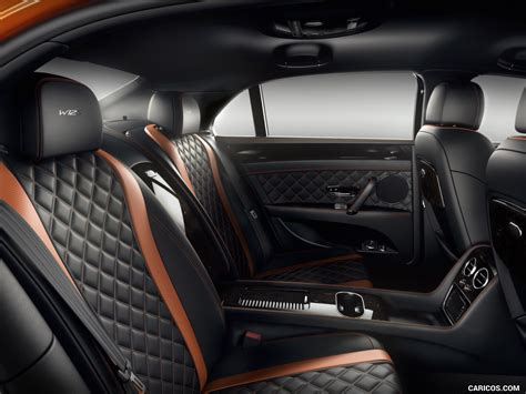 bentley flying spur 2017 interior 2017 bentley flying spur w12 s interior rear seats hd