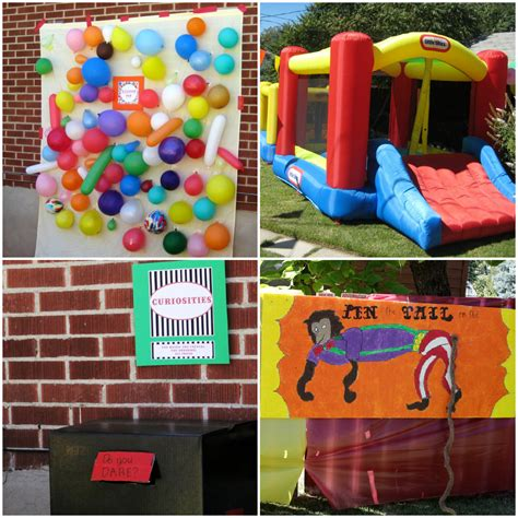 carnival themed birthday games circus themed birthday party bless this mess
