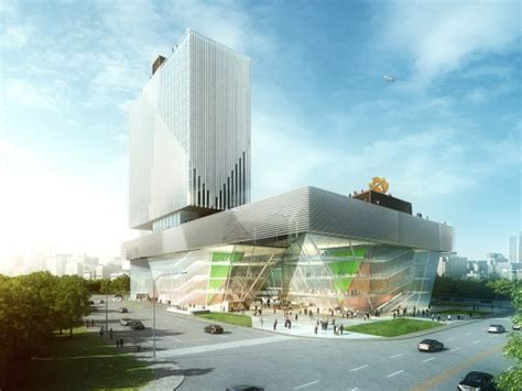 american architect american architects win international competition for cultural mall in china archdaily