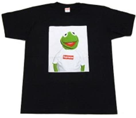 Kaos T Shirt Supreme Kermit Classic Frog Box Logo object moved