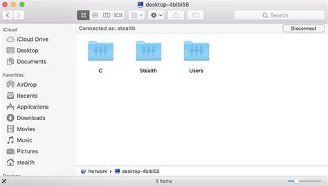 cara mengubah stealth setting anoni come accedere alle cartelle condivise mac da un pc windows