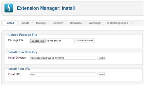 file hosting template j2 5 installing a template joomla documentation