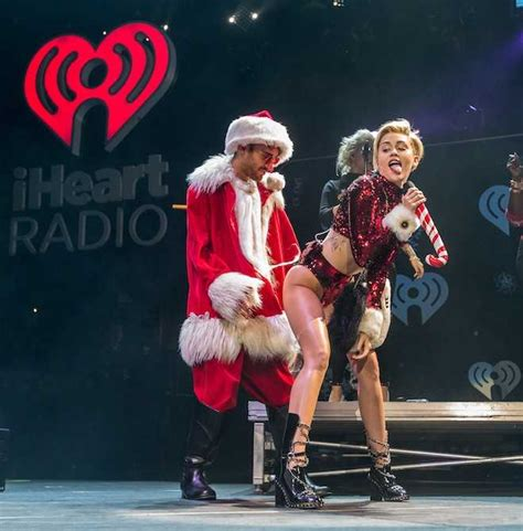 miley cyrus dressed as mrs claus at the jingle ball popsugar best worst dressed miley cyrus1 jpg