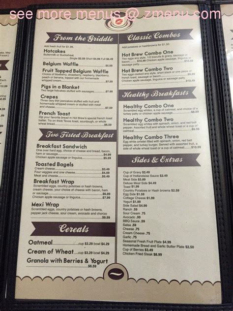table pizza fortuna menu of brew restaurant fortuna california