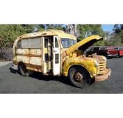 Coolest Short Bus 1948 Chevrolet School