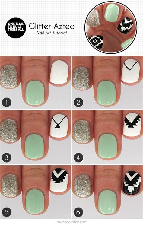tutorial nail art aztec 17 best images about nail art tutorials on pinterest