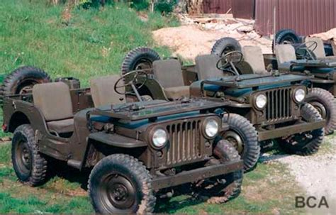 Korean War Jeep Army Jeeps Bca Services