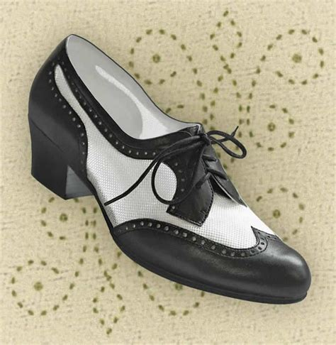 1950s oxford shoes aris allen black white 1950s wingtip mesh oxford