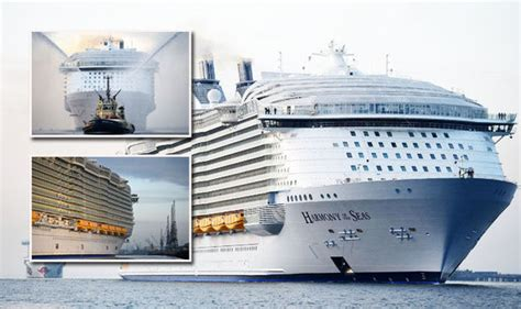 ship bigger than titanic ms harmony of the seas is the world s largest cruise ship