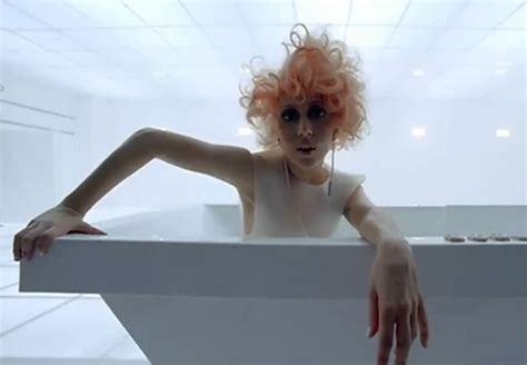 bathtub lady video lady gaga bad romance rap up
