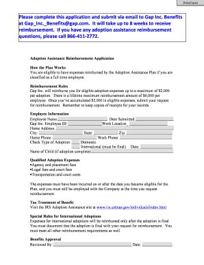 printable job application for gap gap old navy banana republic job application form