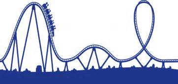 roller coaster drawing clipart best