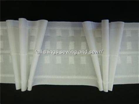 pinch pleat drapery tape premium 4 quot 10mtr triple pinch pleat curtain heading tape ebay
