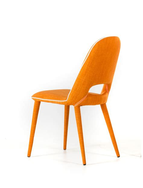 orange dining chairs kenneth orange fabric dining chairs orange dining chair