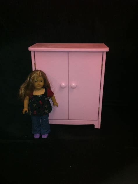 18 doll armoire custom 18 quot doll armoire by pine grove woodshop