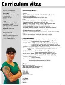 Curriculum Vitae Of by Plantillas Curriculum Vitae Ecro Word Lugares Para