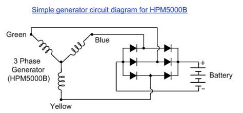 generator diode diagram generator diode diagram 28 images devilbiss gb5000 2 generator rectifier wiring question