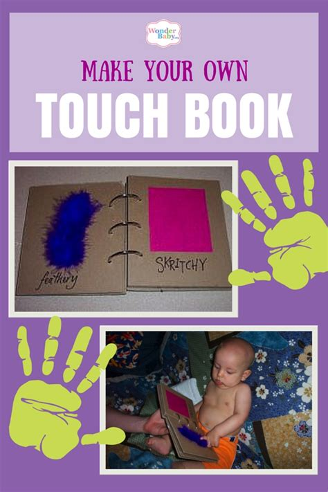 touch books make your own touch book wonderbaby org