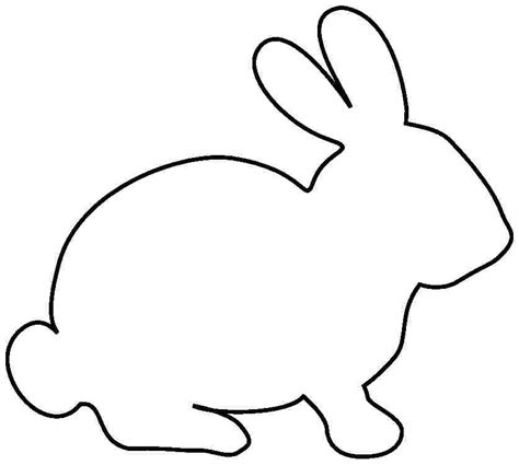free printable pictures of rabbits clipart best