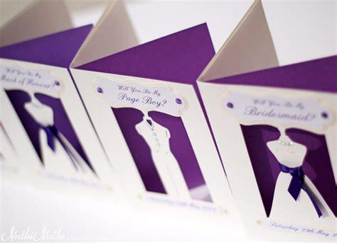 3d wedding bridesmaid 3d wedding invitations real weddings stationery by nulki nulks