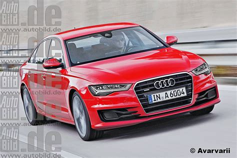 Audi A6 Facelift by Audi A6 Facelift Autosalon Paris 2014 Bilder Autobild De