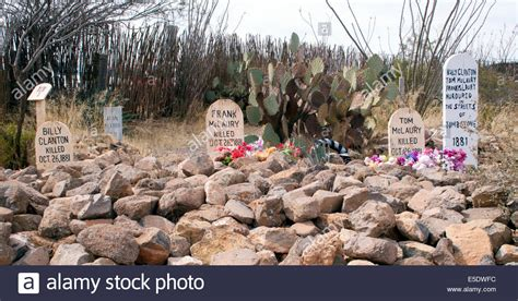 at the boot hill cemetery in tombstone arizona