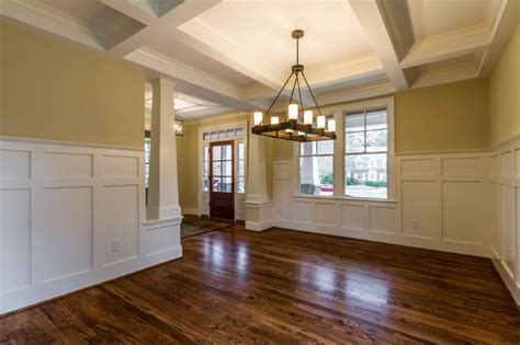 Wainscoting Dining Room Ideas Craftsman Style Home Interiors Craftsman Dining Room