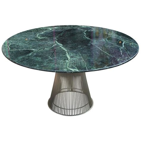 iconic dining tables iconic warren platner dining table with green marble top