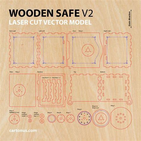 pattern lock model wooden safe version 2 0 vector model project plan for
