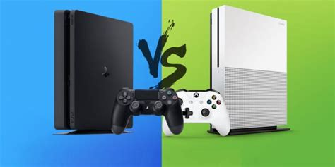 ps4 console vs xbox one ps4 slim or xbox one s the one question casual gamers